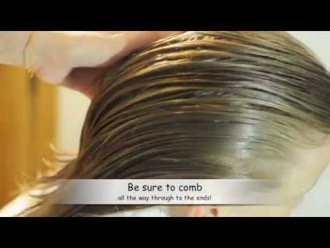 Lice Removal Combing Method