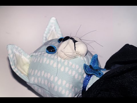 How it is made - A CAT IN A TAILCOAT TOY