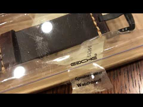 Unboxing iWatch Apple Watch Leather Bands Straps