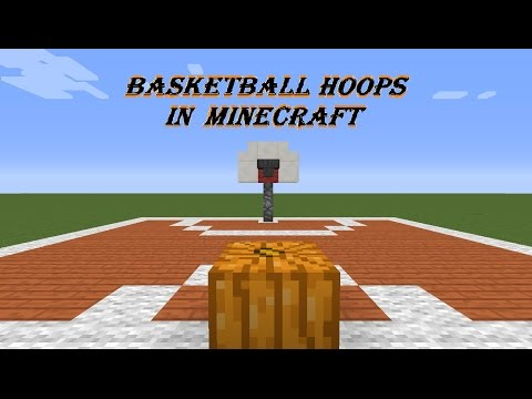 How to make a BasketBall Hoop in Minecraft PC/Xbox 360/Xbox One/PS3/PS4