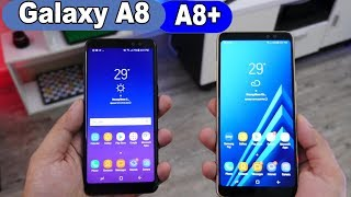 Smartphone Samsung Galaxy A8  e A8+ ( plus )