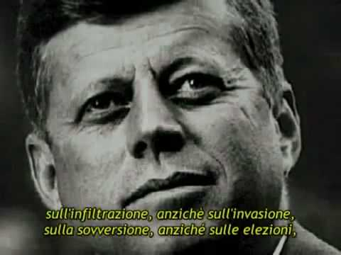 Il celebre discorso di John Fitzgerald Kennedy del 1961