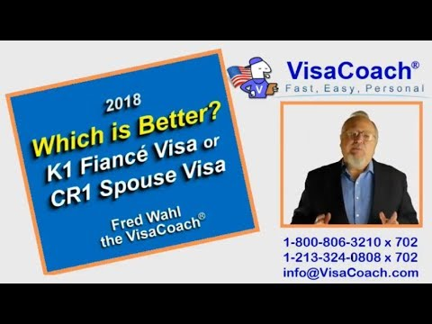 Fiance Visa vs Spouse Visa, K1 vs CR1? Which is faster, easier, cheaper? k118