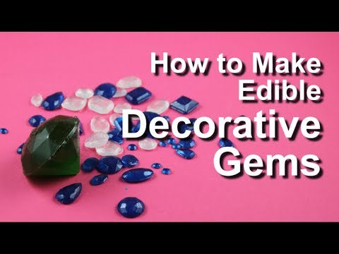 Edible Decorative Gems