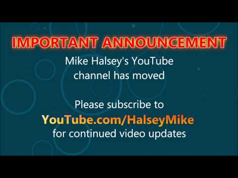 Mike Halsey's YouTube Channel has Moved!