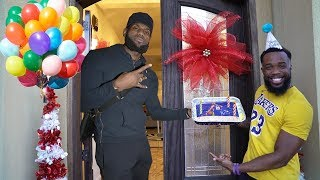 Hanging Out With Lebron James For My Birthday!!!!