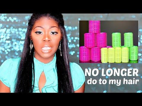 10 things I NO LONGER do to my hair