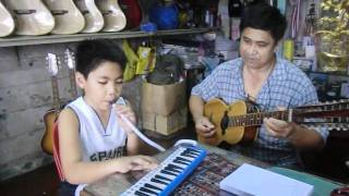 George Gange Jams with Orrel Bandilla Playing Immaculate Mother.wmv