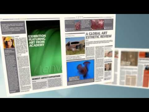 newspaper template 16 pages
