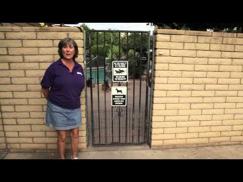 Keep a Dog From Escaping Through a Driveway Gate : Dog Training That Works