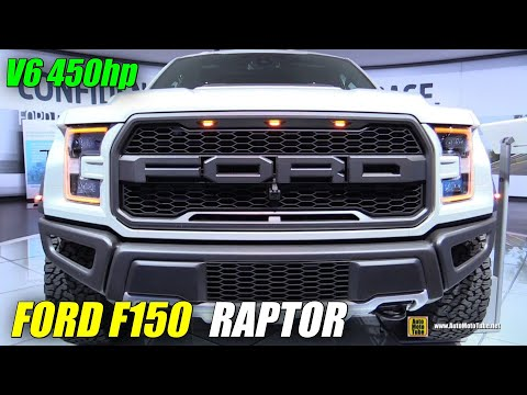 2017 Ford F150 Raptor - Exterior and Interior Walkaround - 2016 Detroit Auto Show