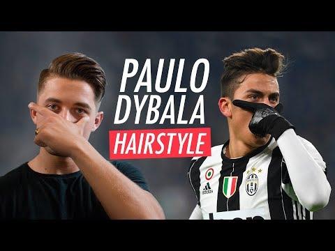 Paulo Dybala Hairstyle 2018 - Men's Football Player Haircut