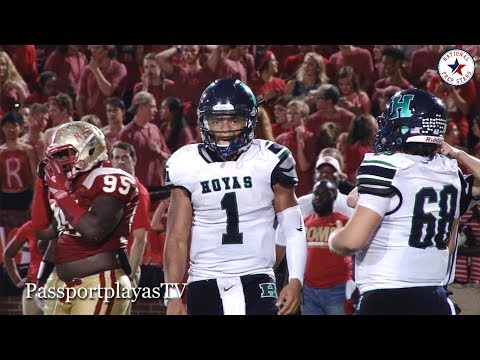 Justin Fields RUNS INTO a Roman Army!!! Rome (GA) vs Harrison (GA)
