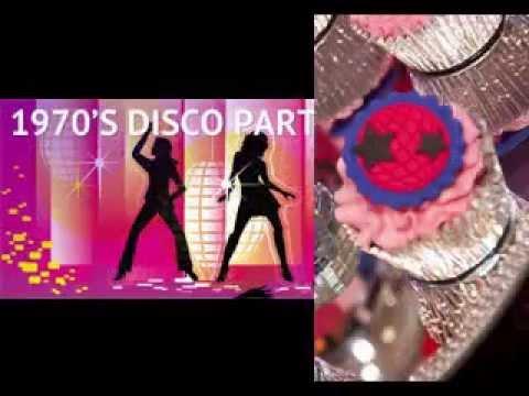Disco party decorating ideas