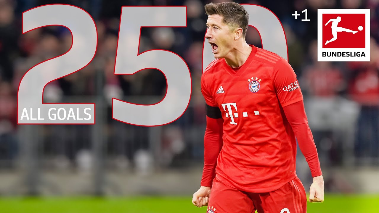 Robert Lewandowski - All 250 Bundesliga Goals