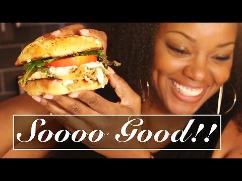 Moroccan Chicken Philly Sandwich w/ Homemade Queso Sauce Recipe | BorderHammer