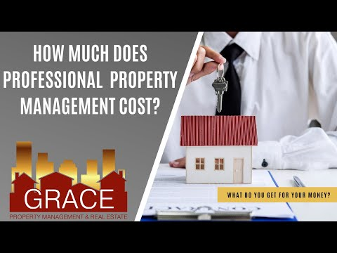 How Much Does Professional Property Management Cost?