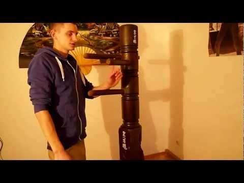 homemade wooden dummy / Hibari Martial Arts Equipment HD