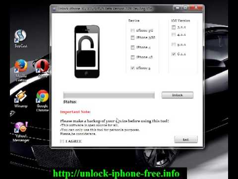 How to SIM Unlock Iphone Free 3G 3GS 4 4S 5