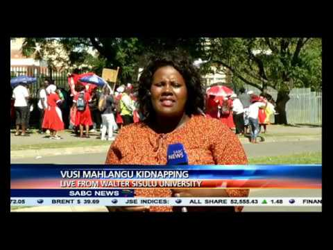 Update on Vusi Mahlangu's disappearance case