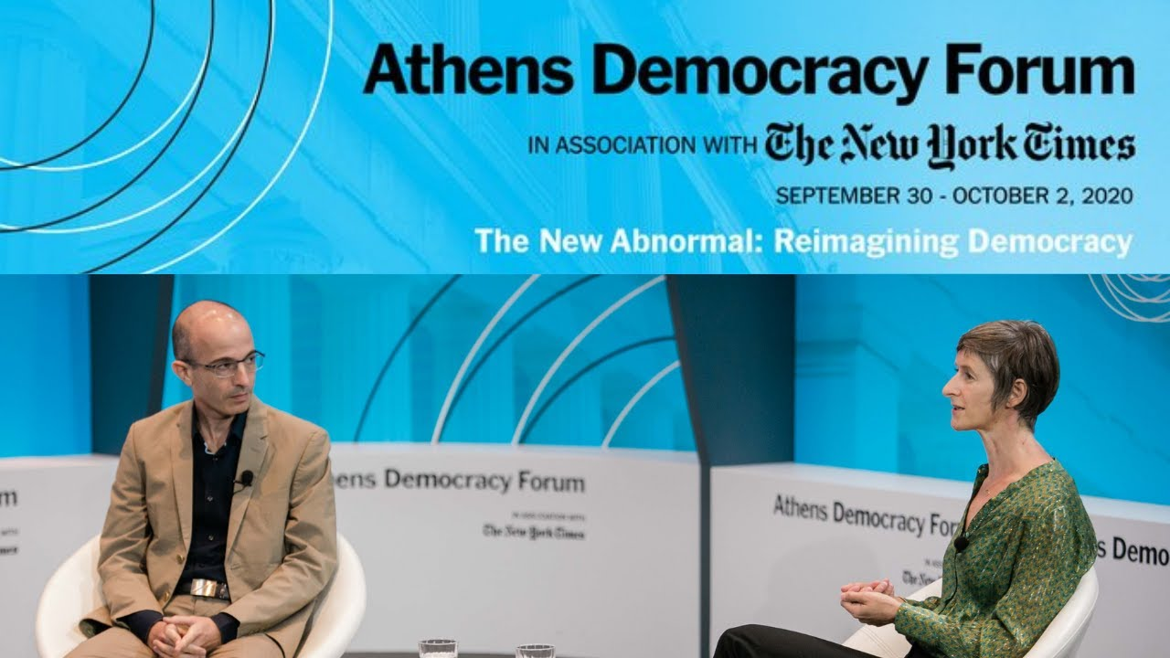Yuval Noah Harari: Panel Discussion on Technology and the Future of Democracy