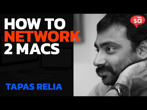 Networking two Macs for MIDI without 2 sound cards: Tapas Relia