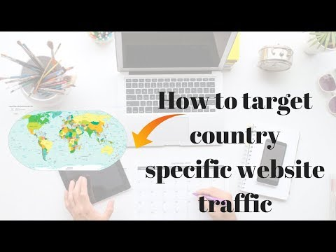 How to target country specific website traffic | How to change target country |Rakesh Tech Solutions