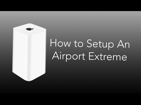 How to Setup An Airport Extreme