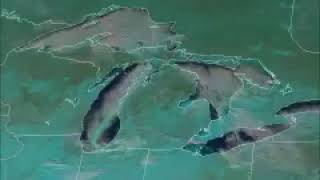 GOES-East Spots Mesovortex over Lake Michigan on New Year