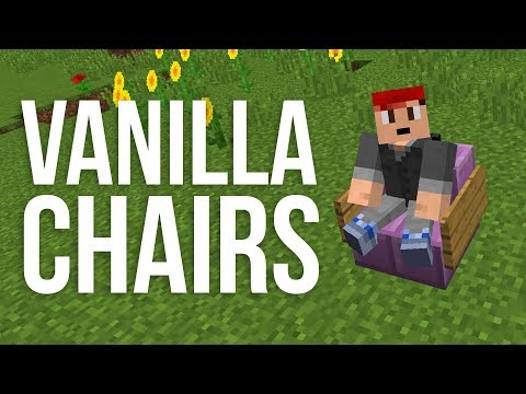 How to Make Chairs out of Stairs in Minecraft