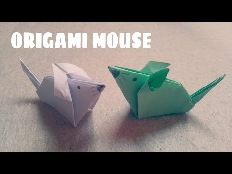 Origami for Kids - Origami Mouse - Origami Animals