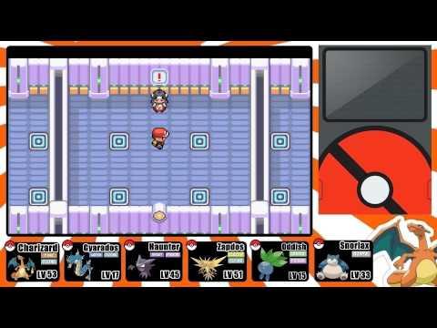 Pokemon FireRed and LeafGreen Walkthrough: Part 30 - Saffron City Gym!