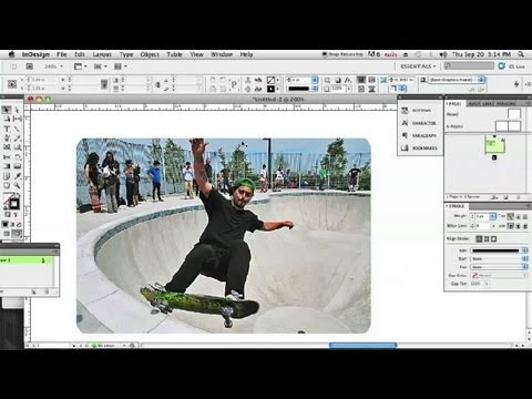 How to Round the Corners of a Frame in InDesign : InDesign & Graphics
