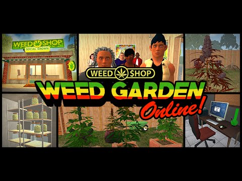 Weed Garden The Game for iOS & Android