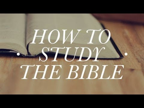 How to Study the Bible: A Lecture on Biblical Languages | W.R. Downing