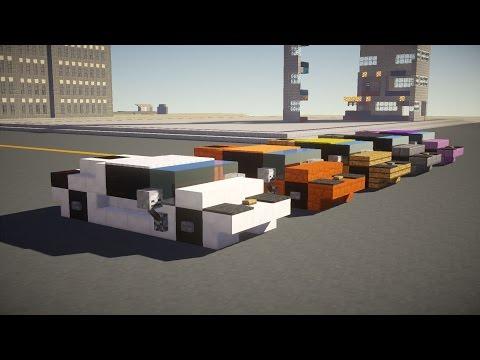 Minecraft Lamborghini Sports Car Tutorial