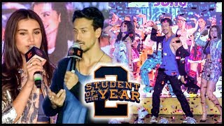 Download Tiger Shroff Dance With Ananya Tara, REACTS On SOTY 2 Trolls | The Jawaani Song Launch | FULL EVENT Video