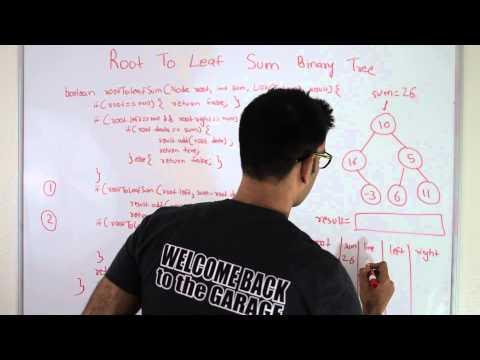 Root To Leaf Sum Binary Tree