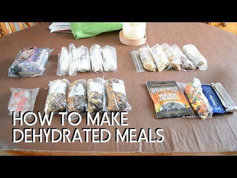 How To Make Dehydrated Meals With An Oven!