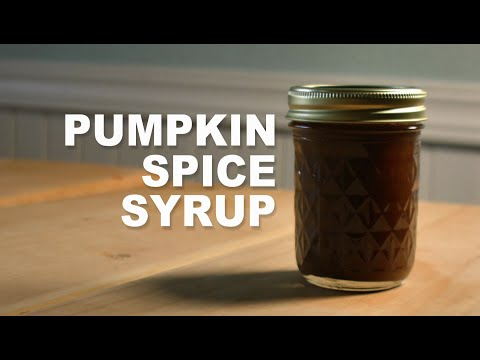 How To Make Pumpkin Spice Syrup - Pumpkin Spice Latte At Home