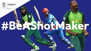 Oppo #BeAShotMaker | South Africa v Afghanistan - Shot of the Day | ICC Cricket World Cup 2019