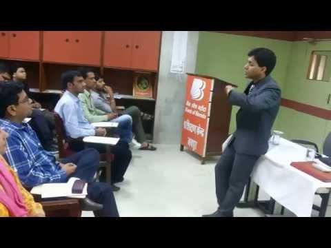 Leadership Training for Bank Employees by Motivational Speaker & Corporate Trainer Shikhar Prajapati