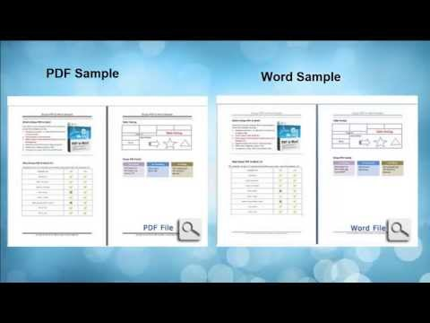 How to Convert PDF Files to Microsoft Word in Windows 8