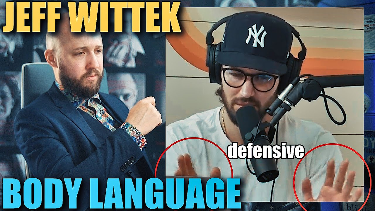 Body Language Analyst REACTS to Jeff Wittek's DEFEATED Nonverbal Communication | Episode 52
