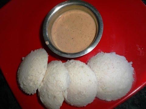 How to Cook Ground Nut Red Chilli Break Fast Chutney .:: by Attamma TV ::.