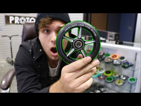 Worlds Fastest Scooter Wheels!!! Insanely fast*