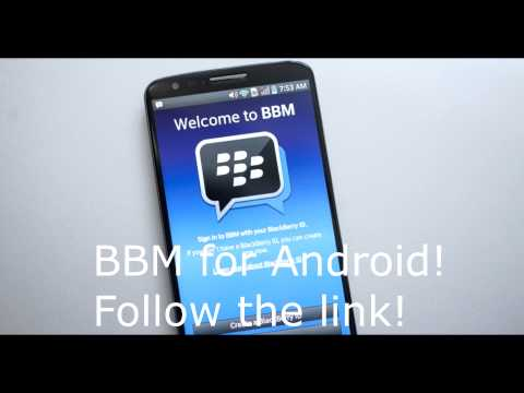 BBM for Android! Get it now! FREE!