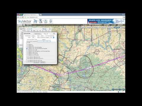 SkyVector Flight Planning