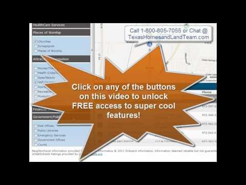 TexasHomesandLandTeam.com Tutorial