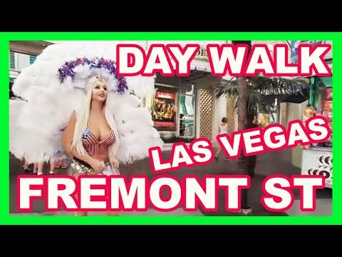 Day Walk Through Fremont Street Experience Las Vegas